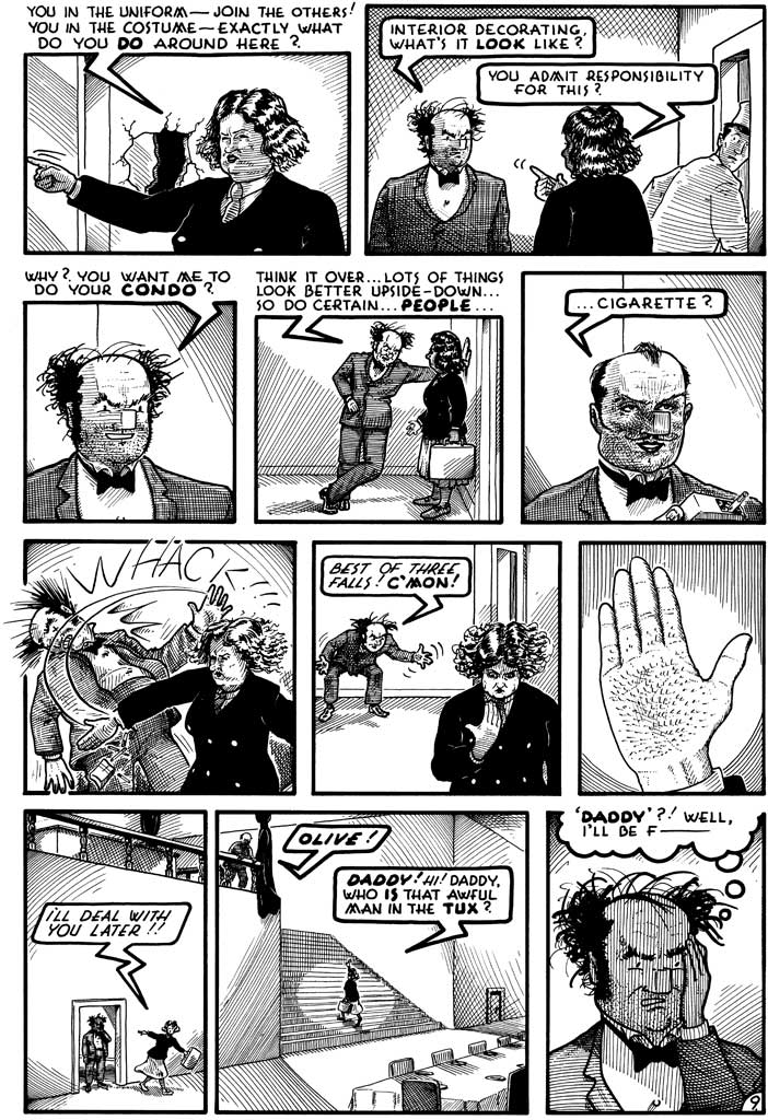 Reid Fleming, World's Toughest Milkman—Buy original comic art by on